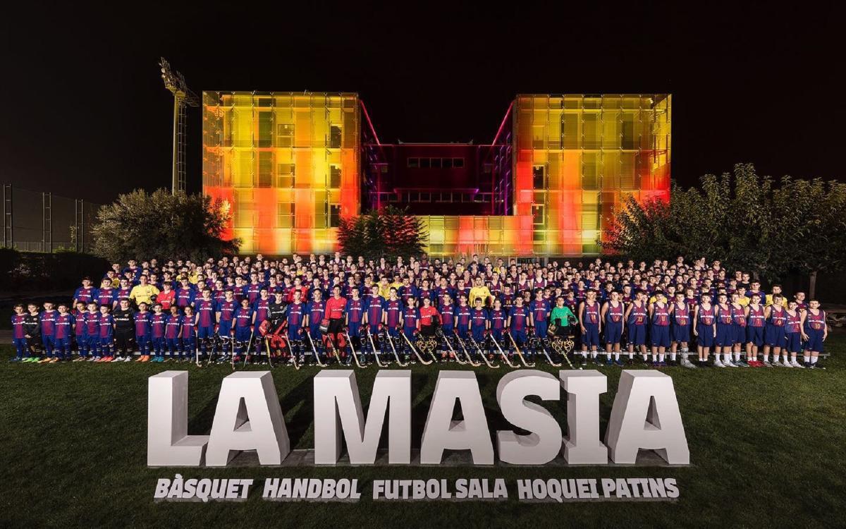 La presentación de los Deportes Formativos del FC Barcelona
