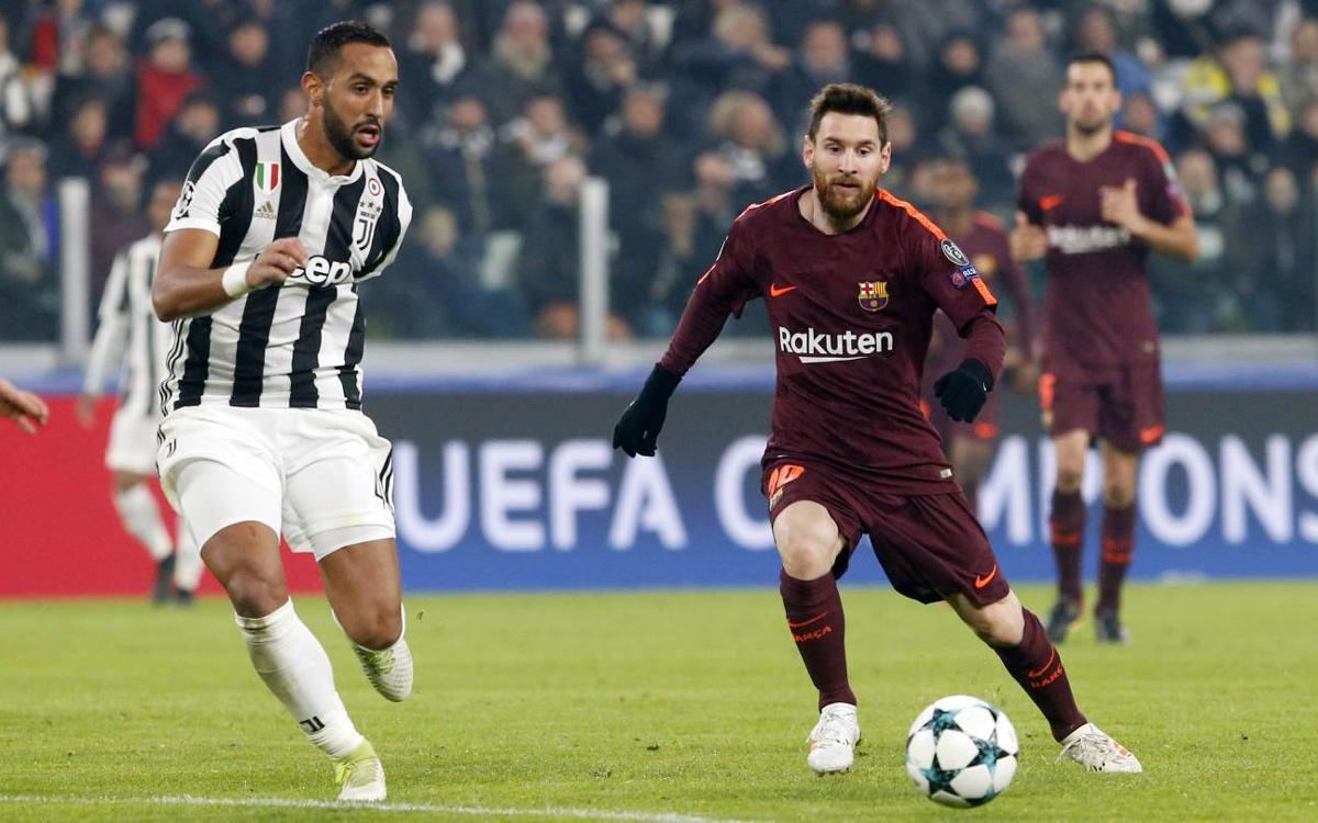 Los mejores detalles del Juventus-Barça