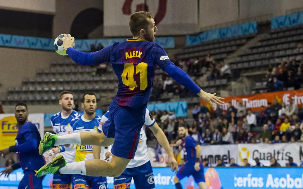 Fraikin BM Granollers – FC Barcelona Lassa: Contundència per seguir endavant (19-43)