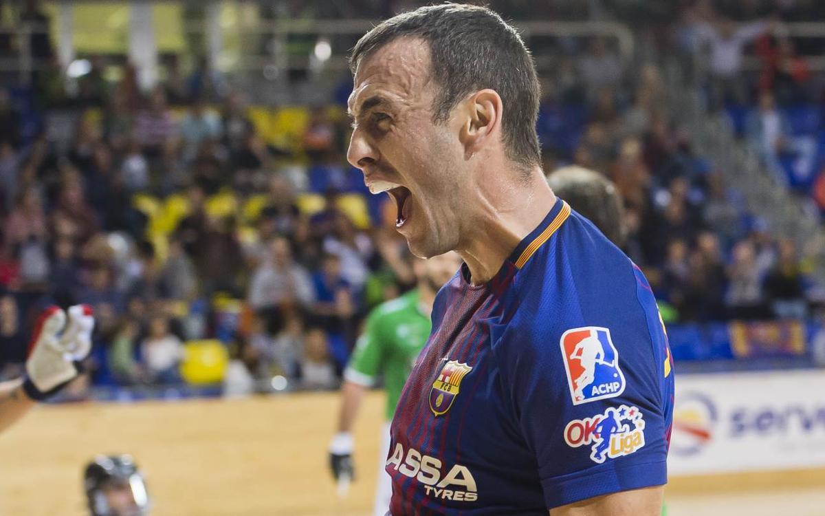 FC Barcelona Lassa- HC Liceo: Victòria de prestigi i liderat (3-1)