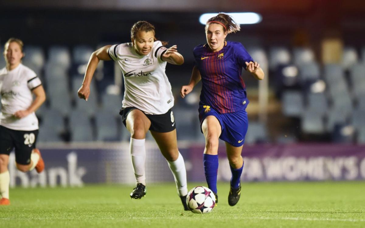 Mariona, con una lesión en la rodilla, baja para Tenerife