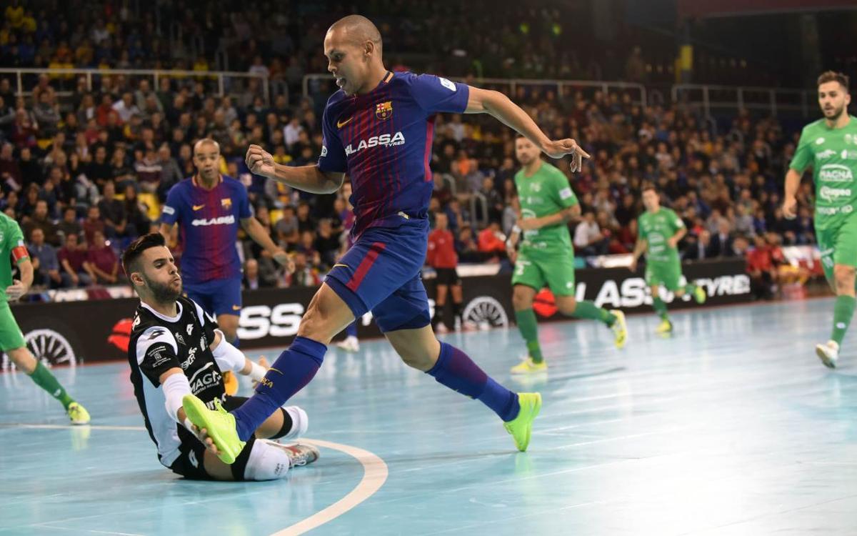 FC Barcelona Lassa – Osasuna Magna: Penalised in the final minutes (3-3)