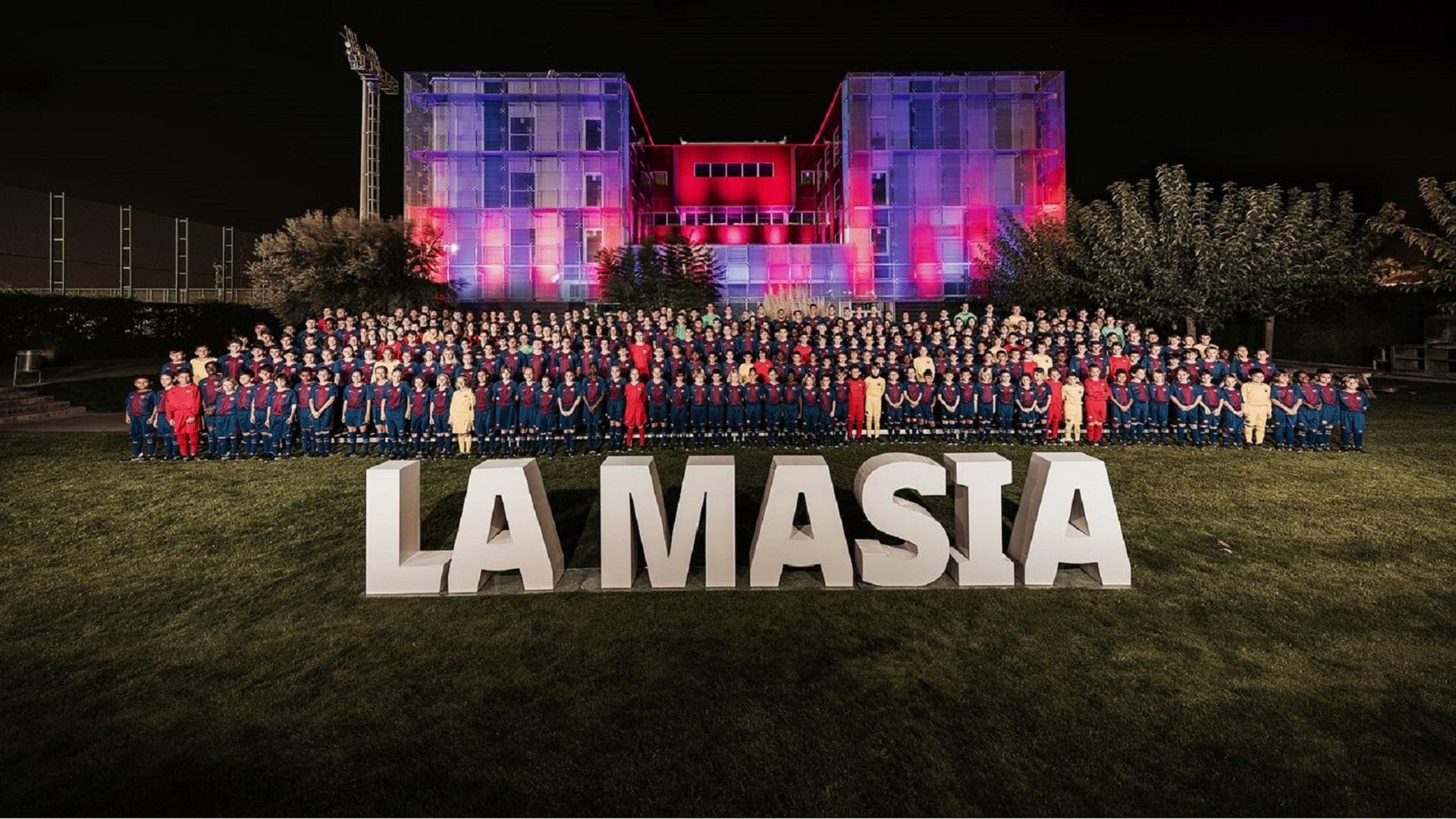 Presentation of the 2017/18 La Masia teams