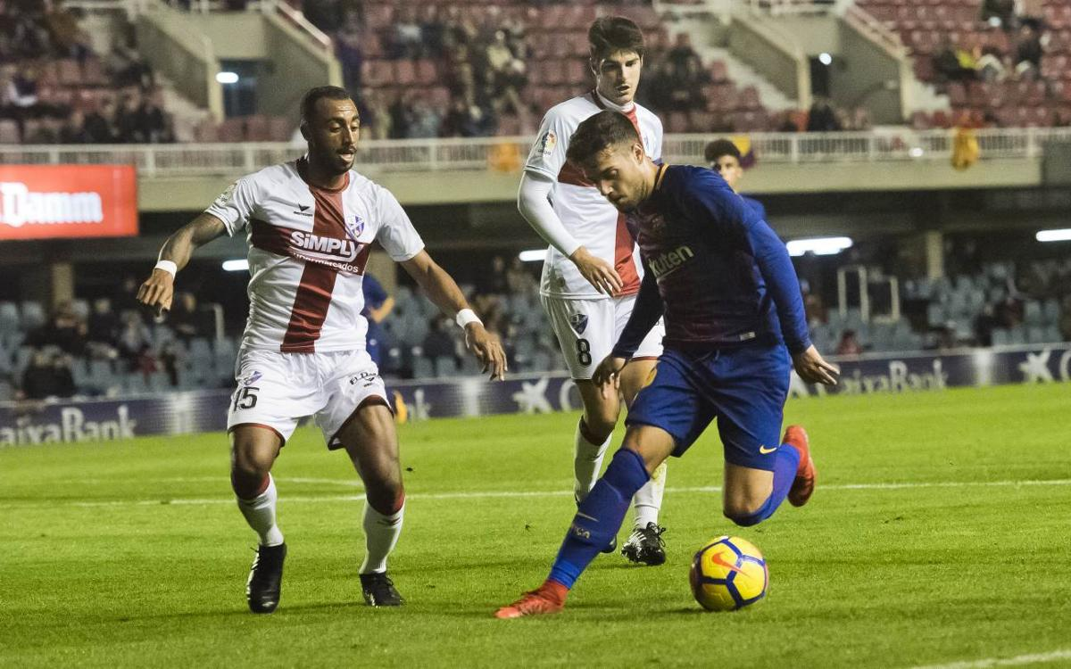 FC Barcelona B v SD Huesca: Clinical visitors seal win (0-2)