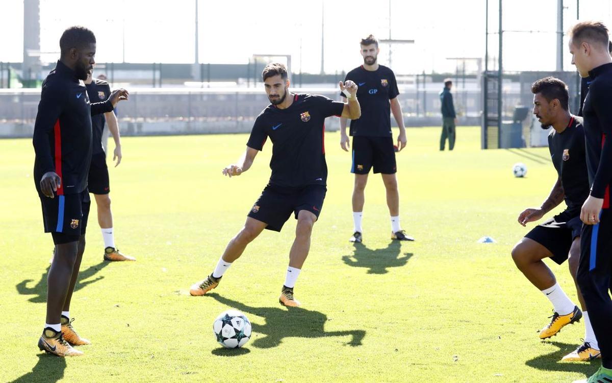 Vidéo - Le groupe du FC Barcelone convoqué pour aller défier l'Olympiakos