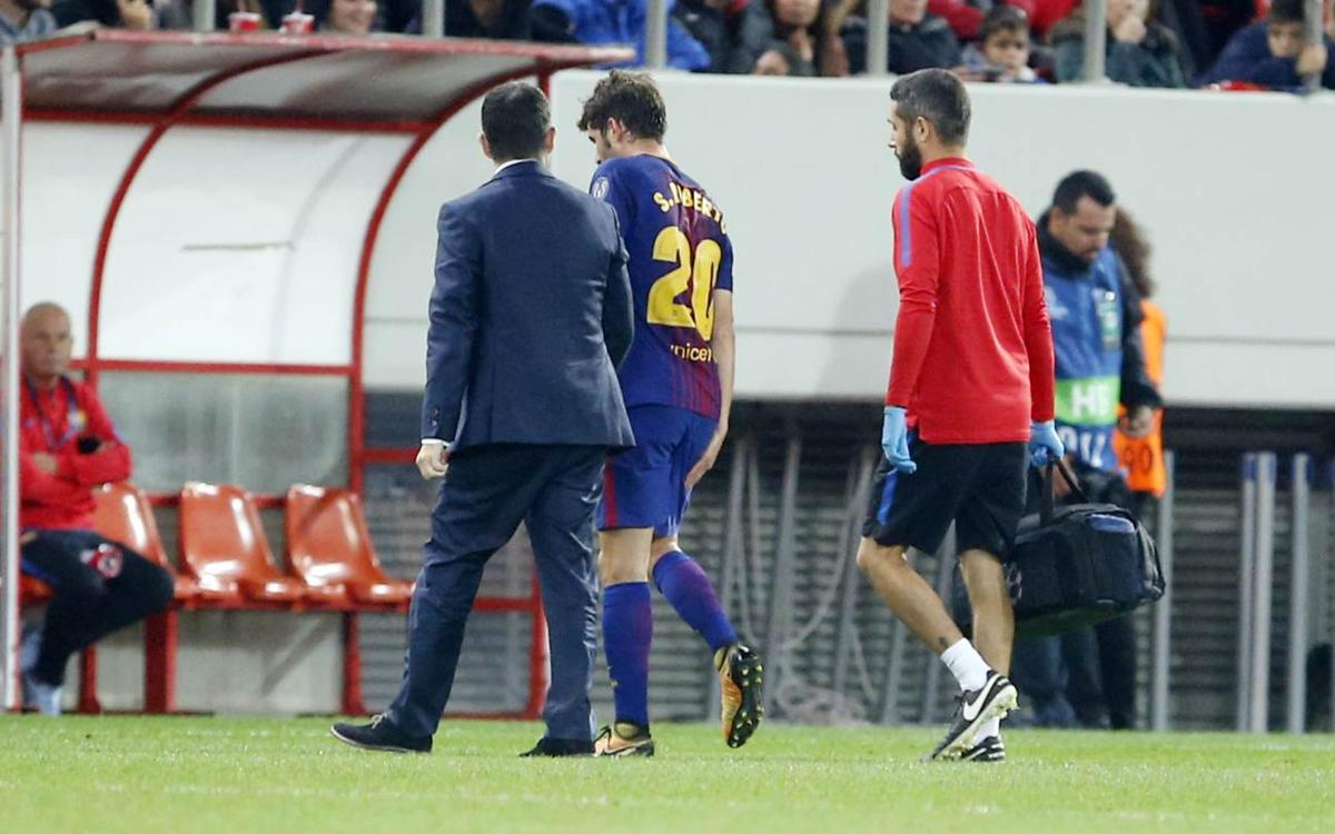 S.Roberto and André Gomes injury news