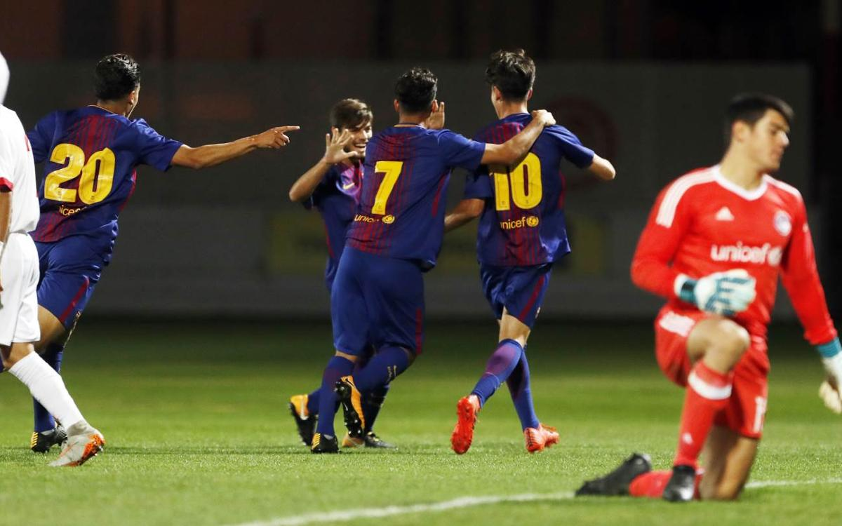 Five best strikes of the week from La Masia