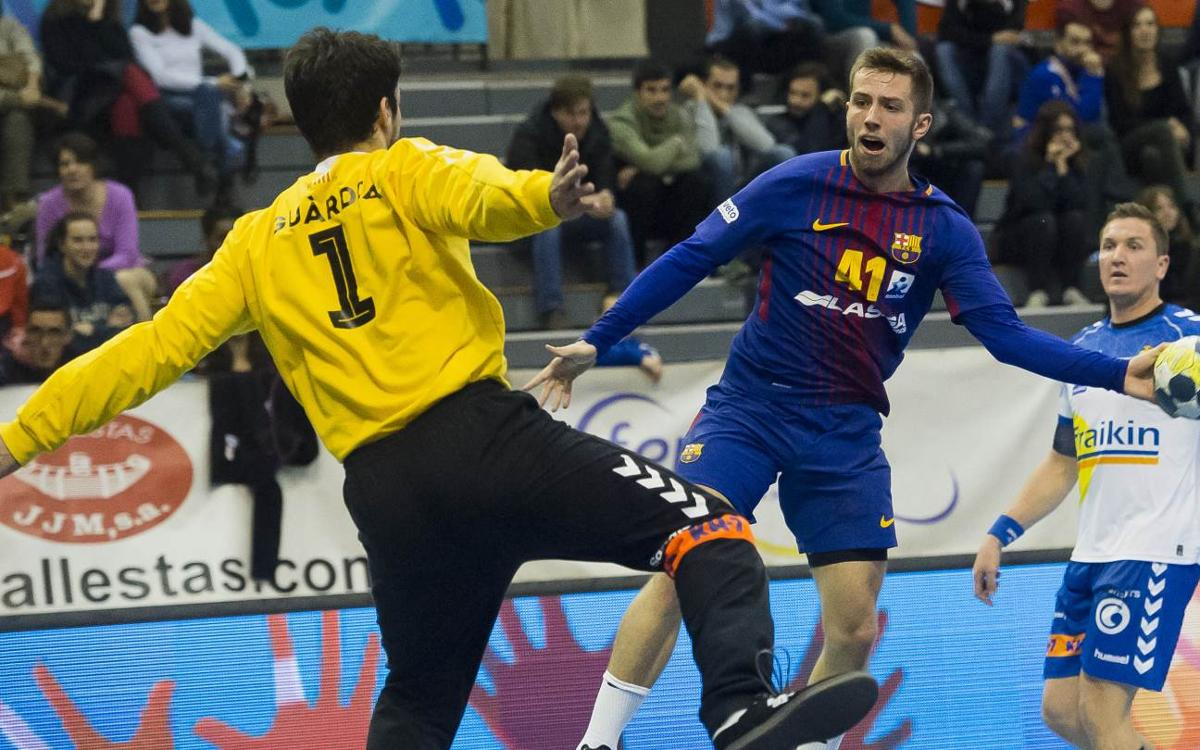 Fraikin BM Granollers - FC Barcelona Lassa: Contundencia para seguir adelante (19-43)