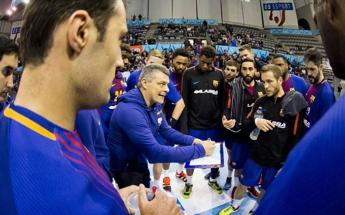 FC Barcelona Lassa – MMT Seguros Zamora: Màxima concentració en el retorn de la competició