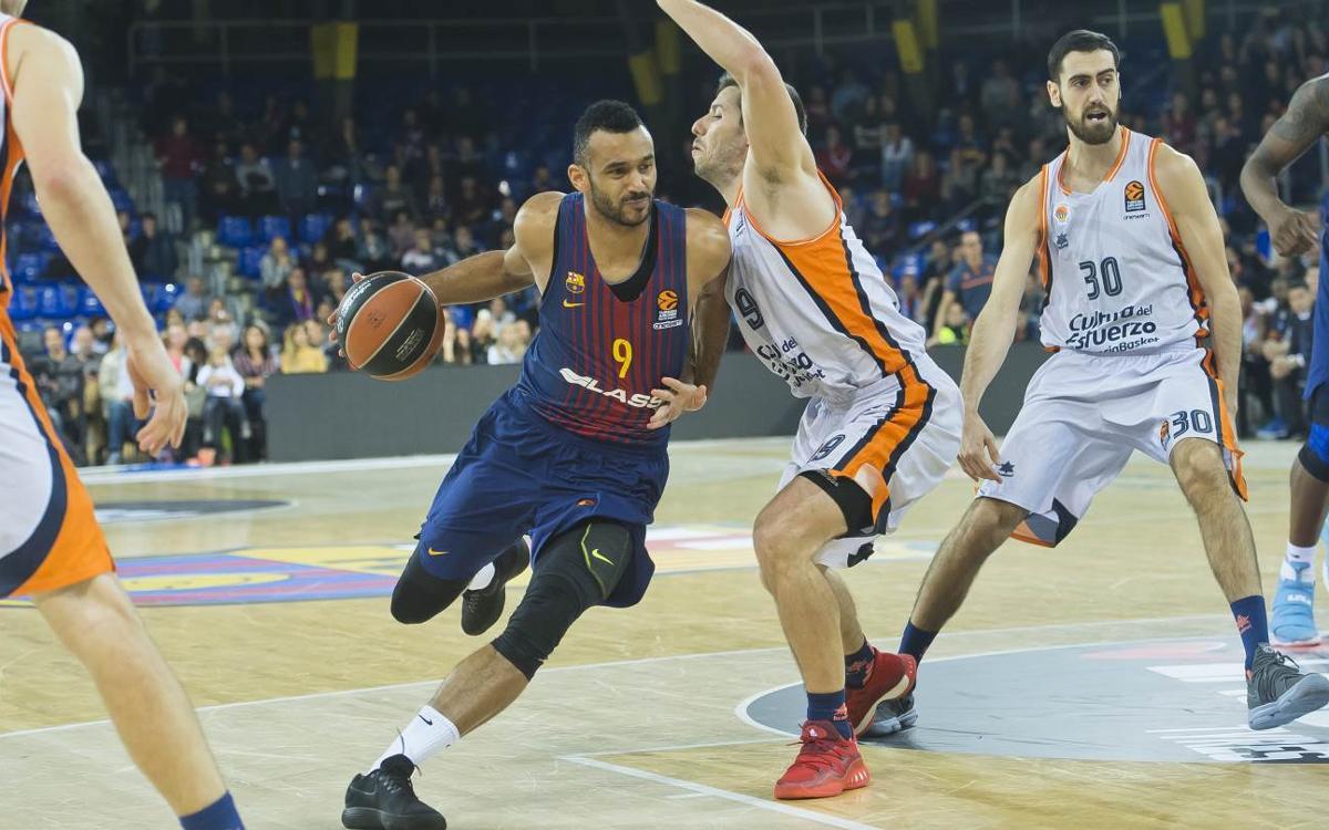 FC Barcelona Lassa – Valencia Basket: Segundo reto contra el campeón