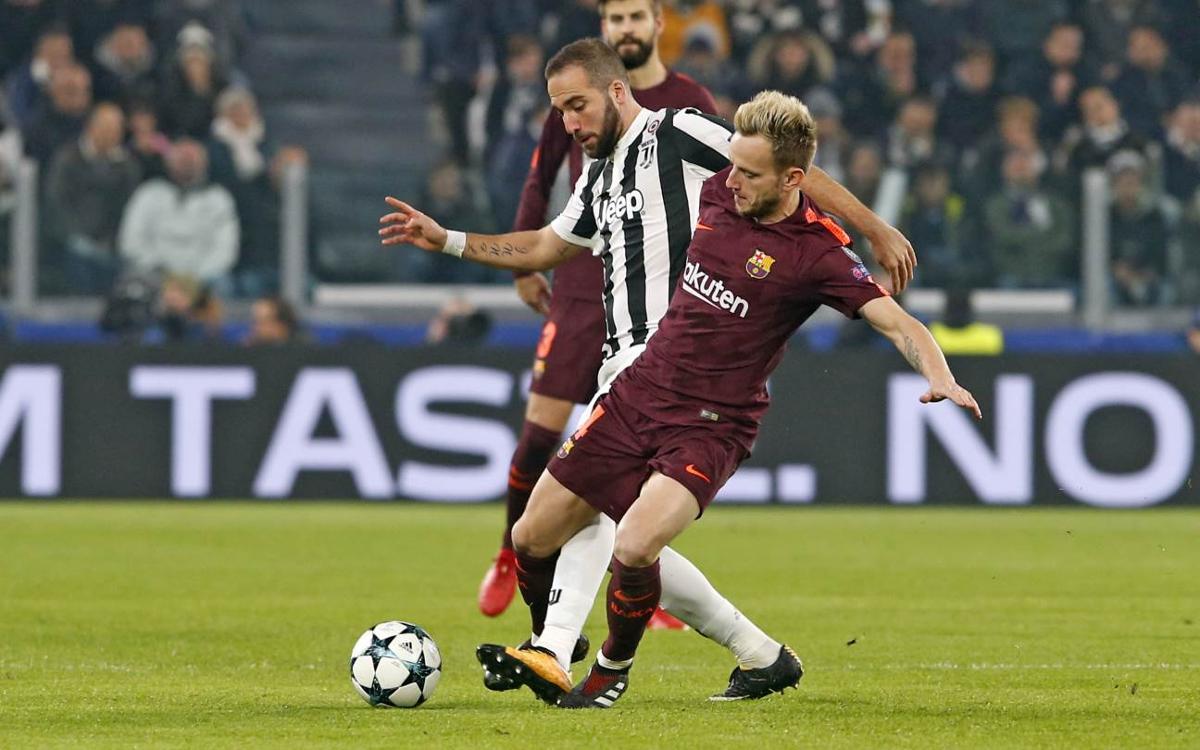 Juventus FC – FC Barcelona: Punt d'or que dóna l'accés als vuitens (0-0)