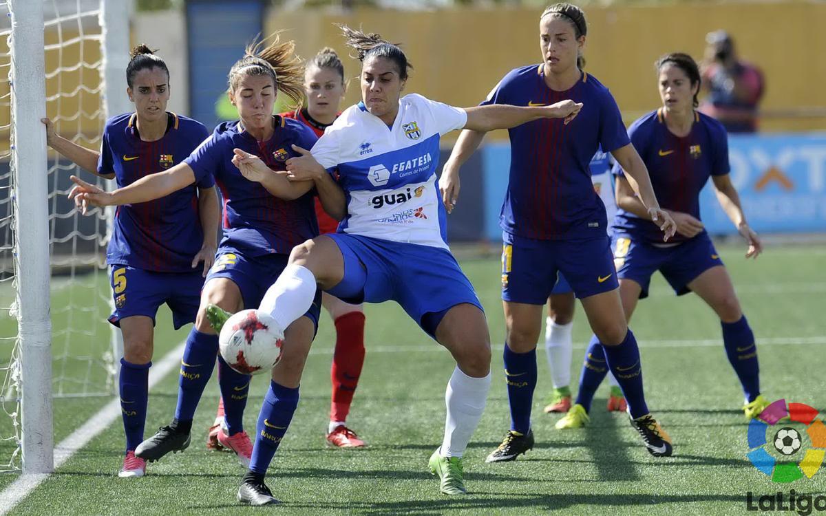 Granadilla v FC Barcelona Women: Winning run ends (1-0)
