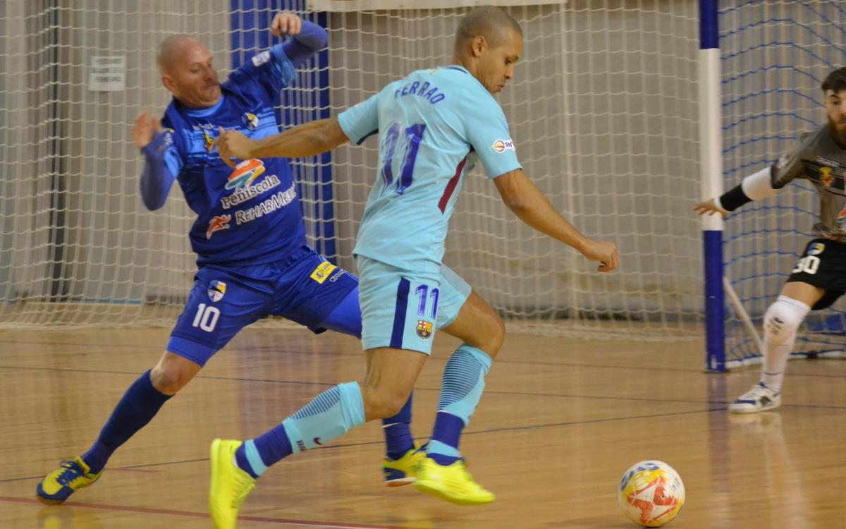 Peníscola FS v FC Barcelona Lassa: Ferrao breaks deadlock (0-1)
