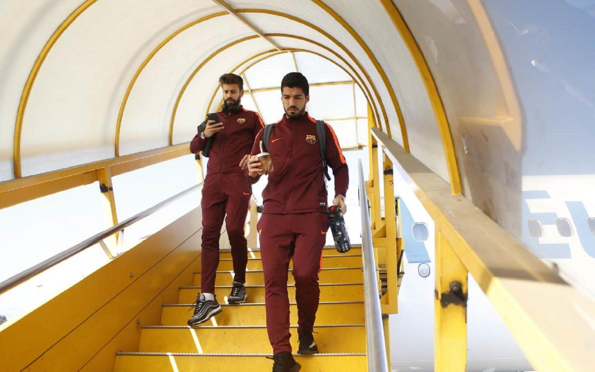 Barça arrives in Turin!