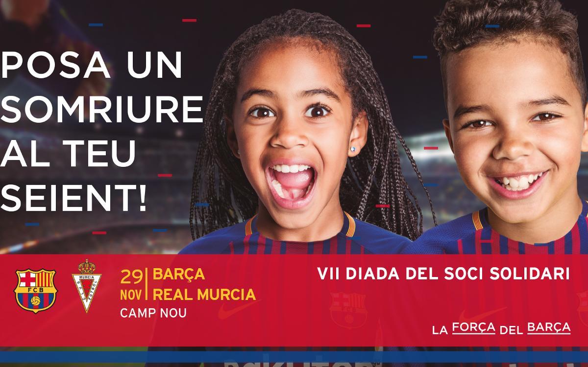 Setena edició de la Diada del Soci Solidari al Camp Nou