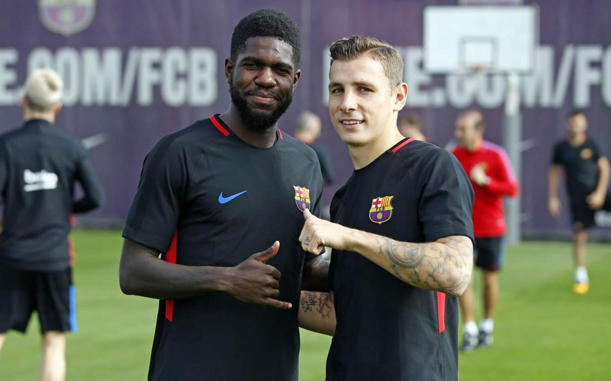 Umtiti and Digne, who knows who best?