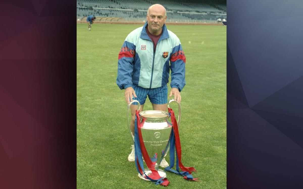 Mor Joan Malgosa, primer recuperador específic del FC Barcelona