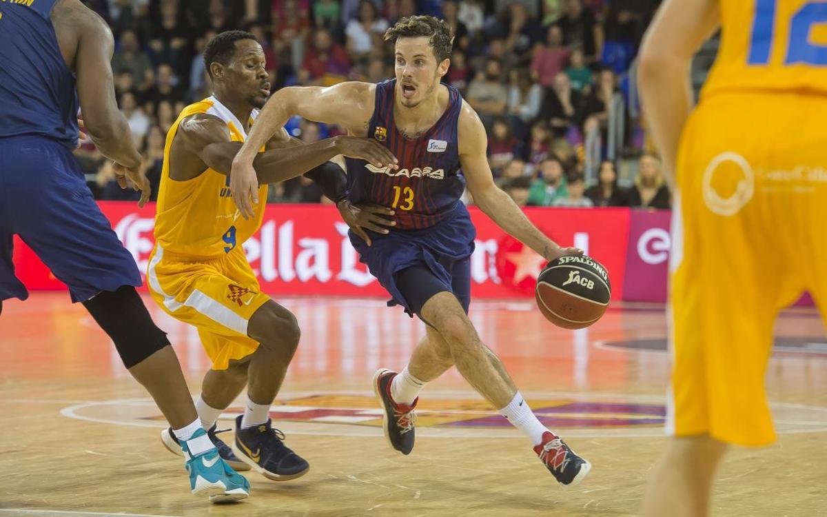 FC Barcelona Lassa – UCAM Múrcia: Derrota desde la línea de tres (94-97)