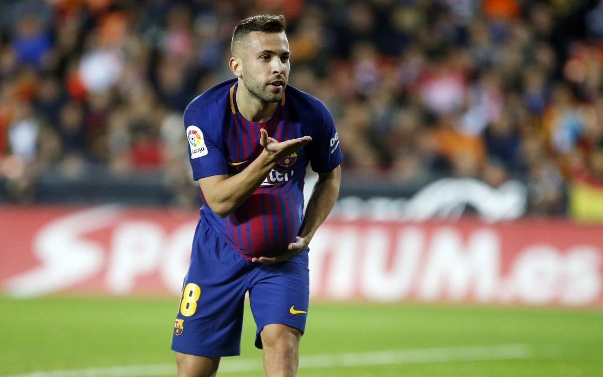 HIGHLIGHTS: Valencia 1, Barça 1