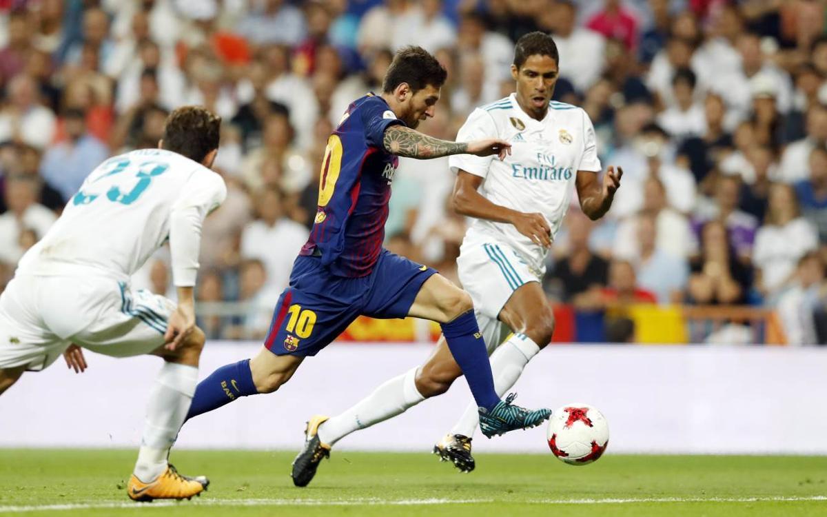 El Clàssic del Bernabéu, el 23 de desembre a les 13 hores