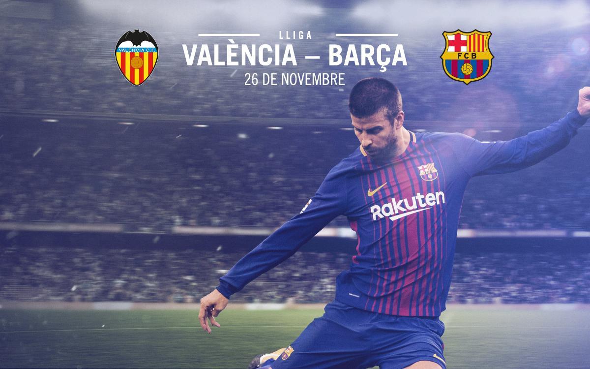 Venda d'entrades per al partit de Lliga al camp del València