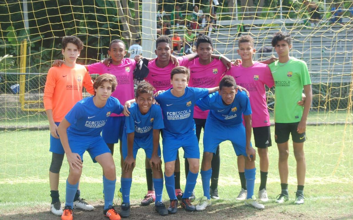 Onze jugadors FCBEscola Santo Domingo, preconvocats amb la selecció dominicana Sub-15