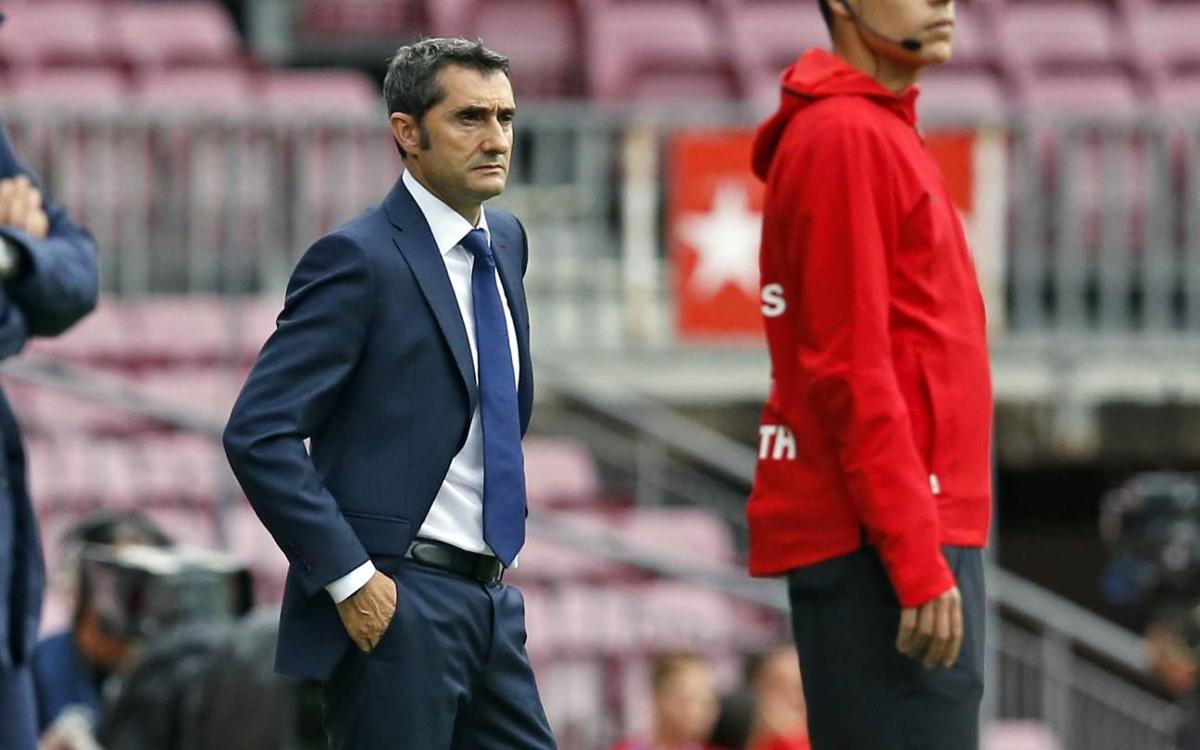 """Valverde: """"Ha estat un partit estrany"""""""