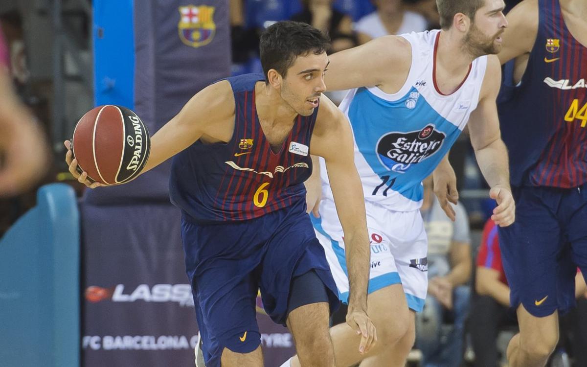 Marc Garcia, con una luxación en el hombro izquierdo