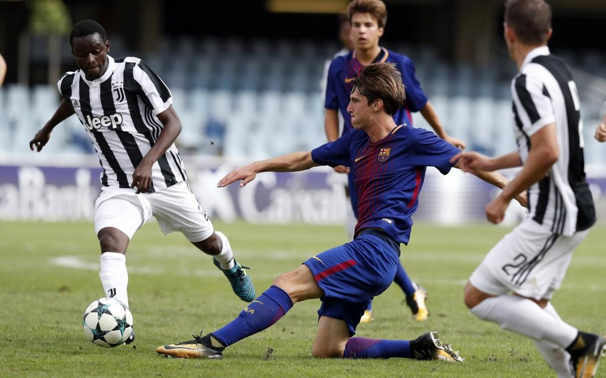 Juventus - Juvenil A: El objetivo de ser primeros de grupo, a tocar
