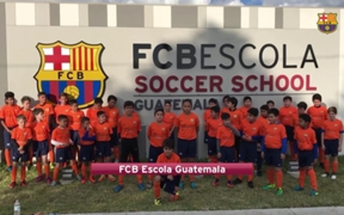 Costa Rica, seu de la segona FCBEscola a Centreamèrica