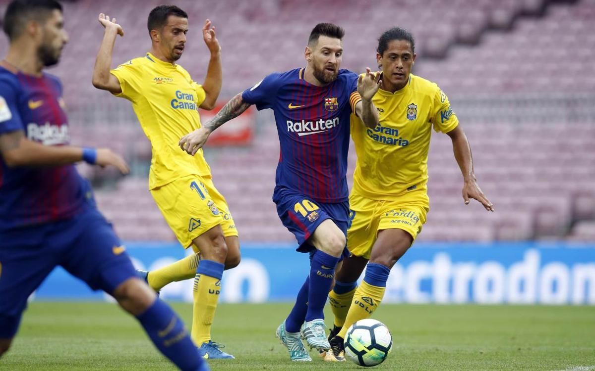 Vidéo - Les moments forts de la victoire à huis-clos du FC Barcelone contre Las Palmas