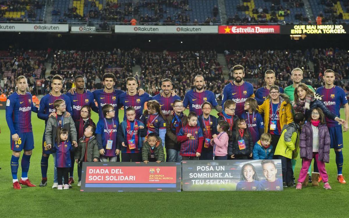 La Diada del Soci Solidari establece un nuevo récord de asistencia con 68.775 espectadores en el Camp Nou