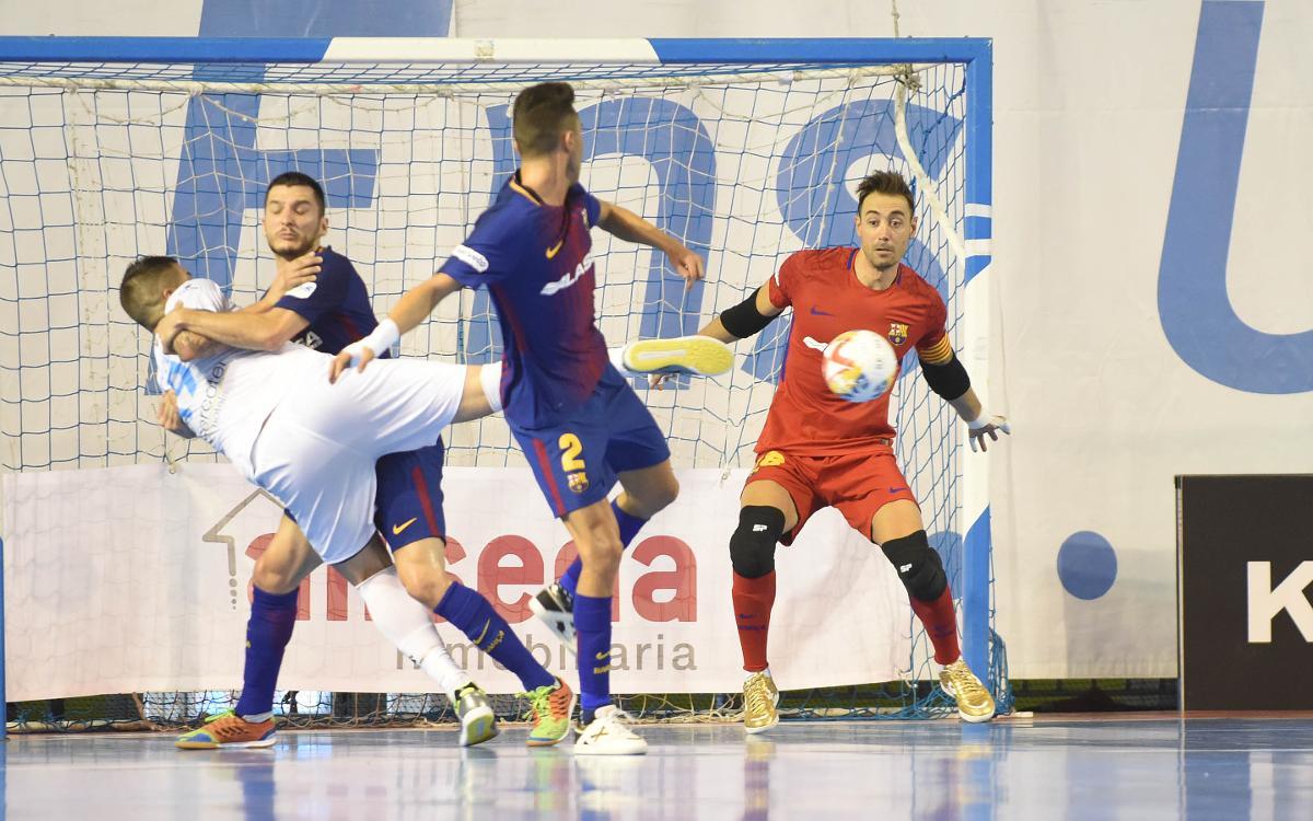 El Barça Lassa gana en solidez defensiva