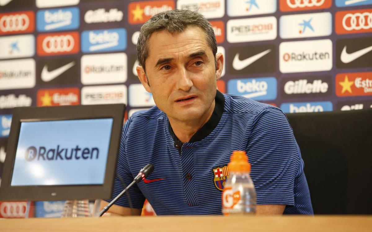 Ernesto Valverde: Tough run of games coming up
