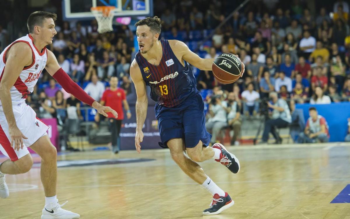 FC Barcelona Lassa – Baskonia: Intensitat i lluita per sumar la primera victòria del curs (87-82)