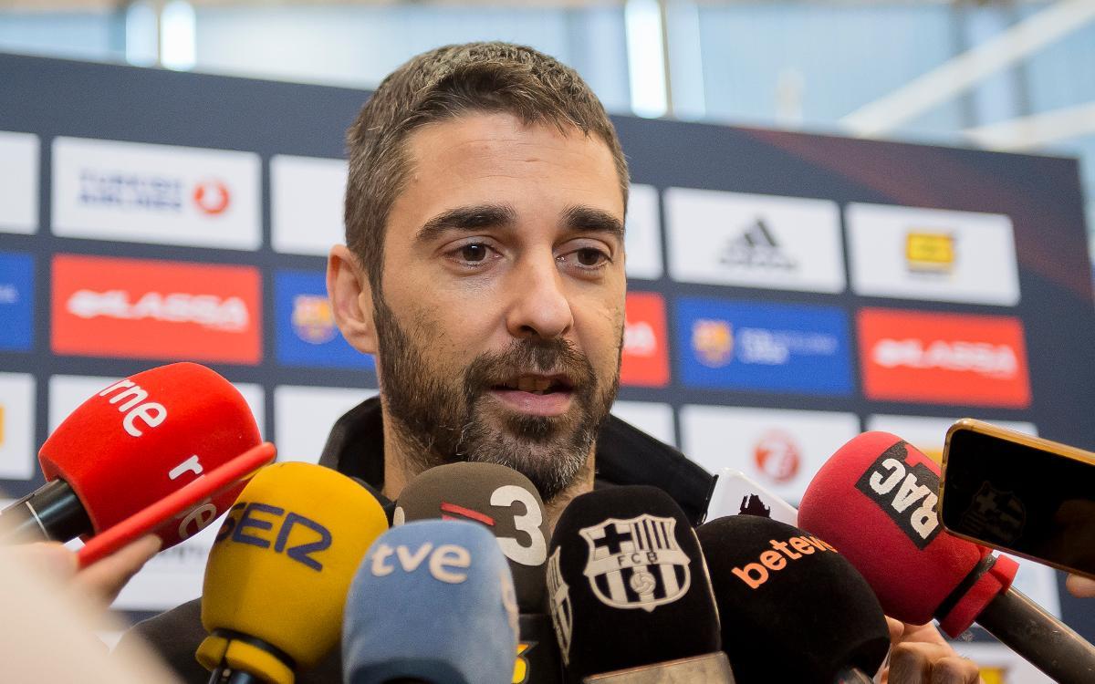 """Navarro: """"Estic content de tot el que he guanyat en aquests 20 anys"""""""