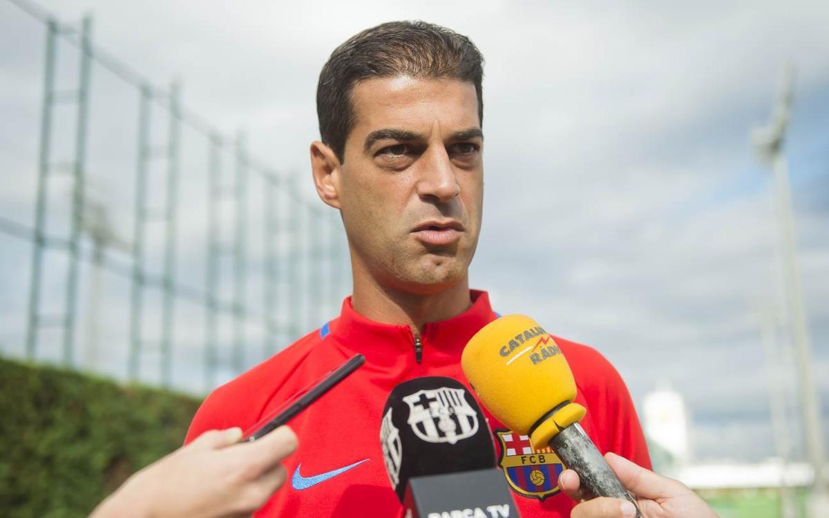 """Gerard López: """"És un equip molt intens, amb gent desequilibrant al davant"""""""