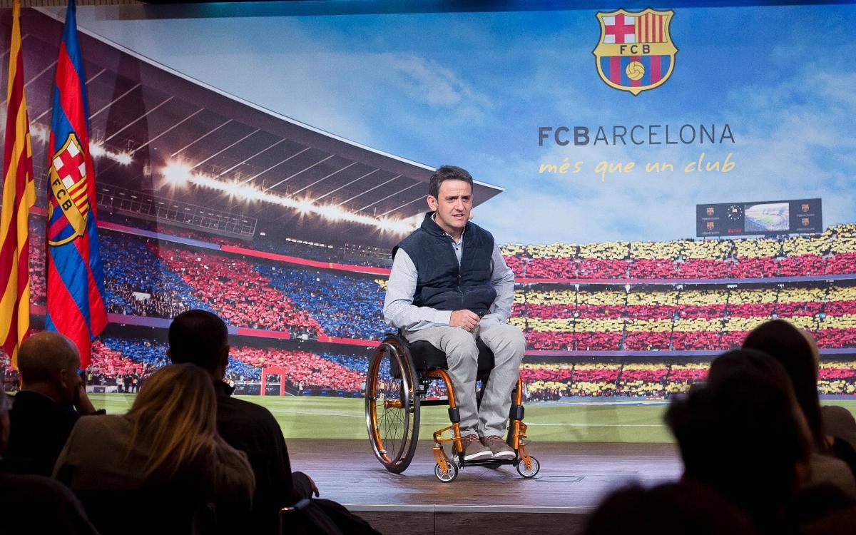El programa Masia Solidaria, presentat a les famílies dels jugadors i jugadores