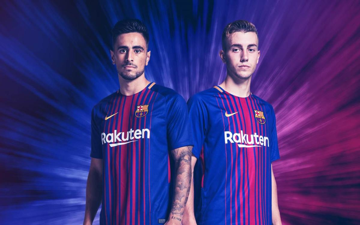Oriol Busquets and David Costas debut with the first team