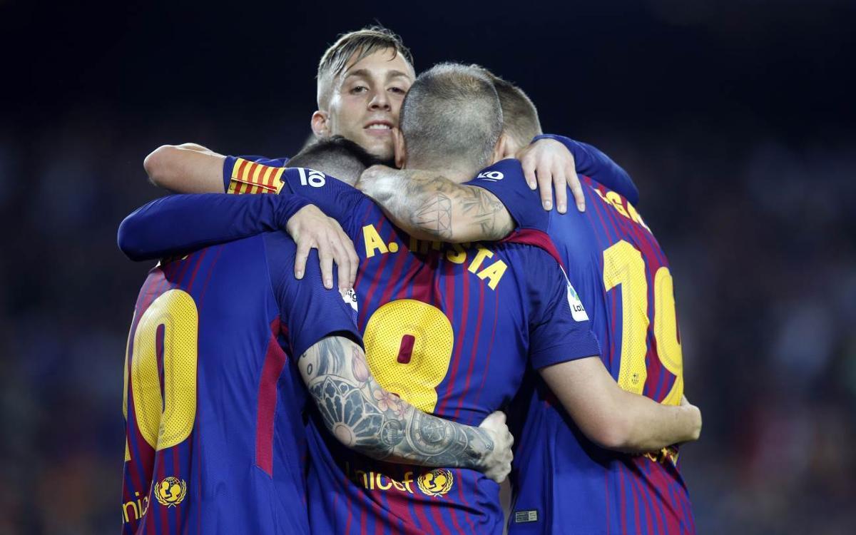 FC Barcelona 2-0 Málaga: Win maintains 100% home record