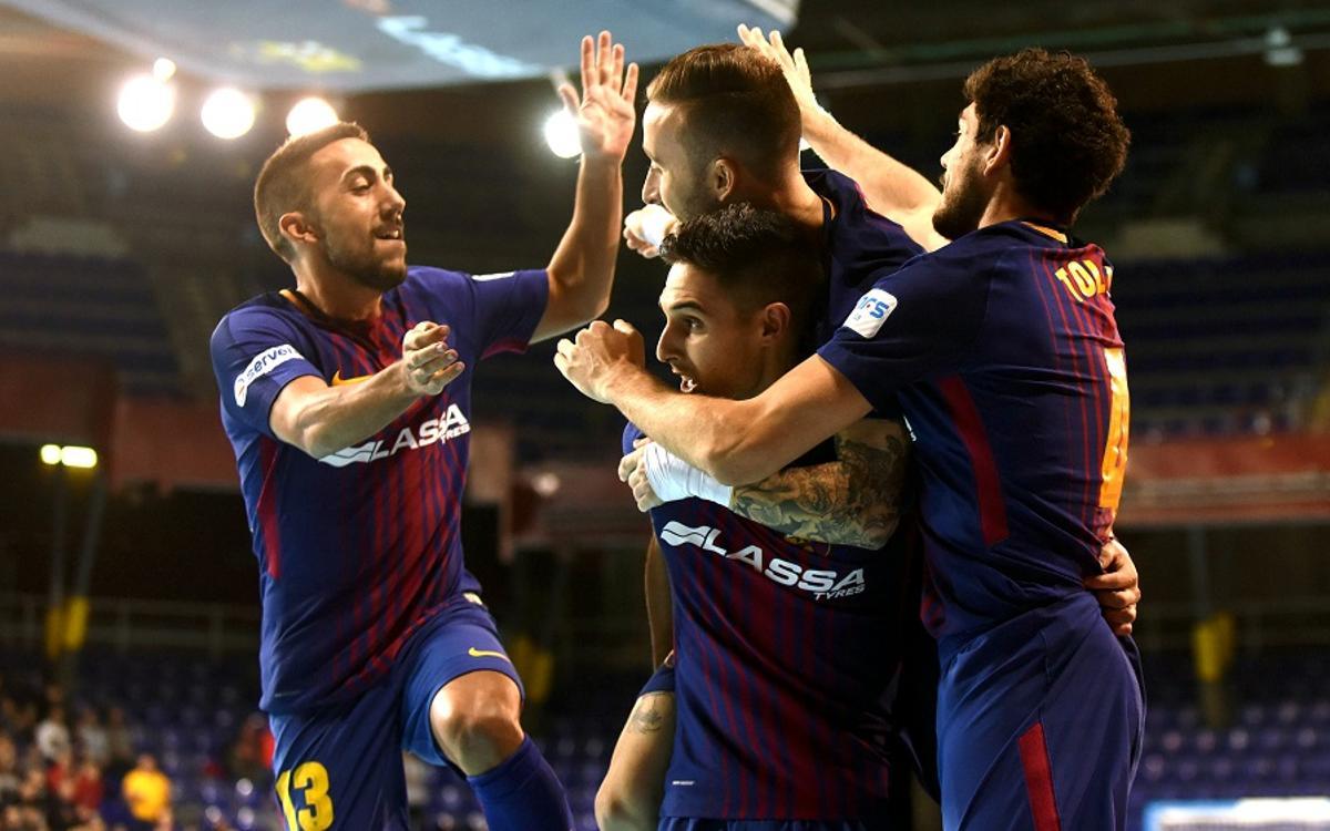 El Barça Lassa disputará por séptima vez las semifinales de la Copa del Rey