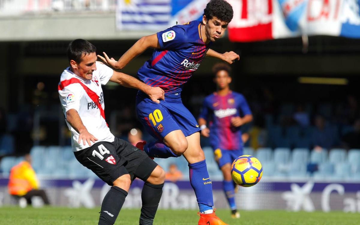 FC Barcelona B - Sevilla Atlético: Sin fortuna en los últimos metros (1-1)