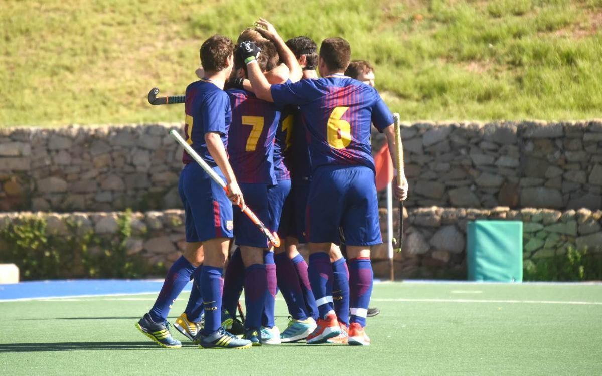 El Barça cierra la primera vuelta con una importante victoria contra el Atlètic Terrassa