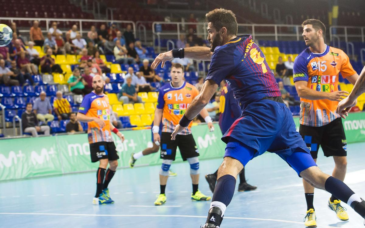 FC Barcelona Lassa - BM Benidorm: Devastating pace at the Palau (34-19)
