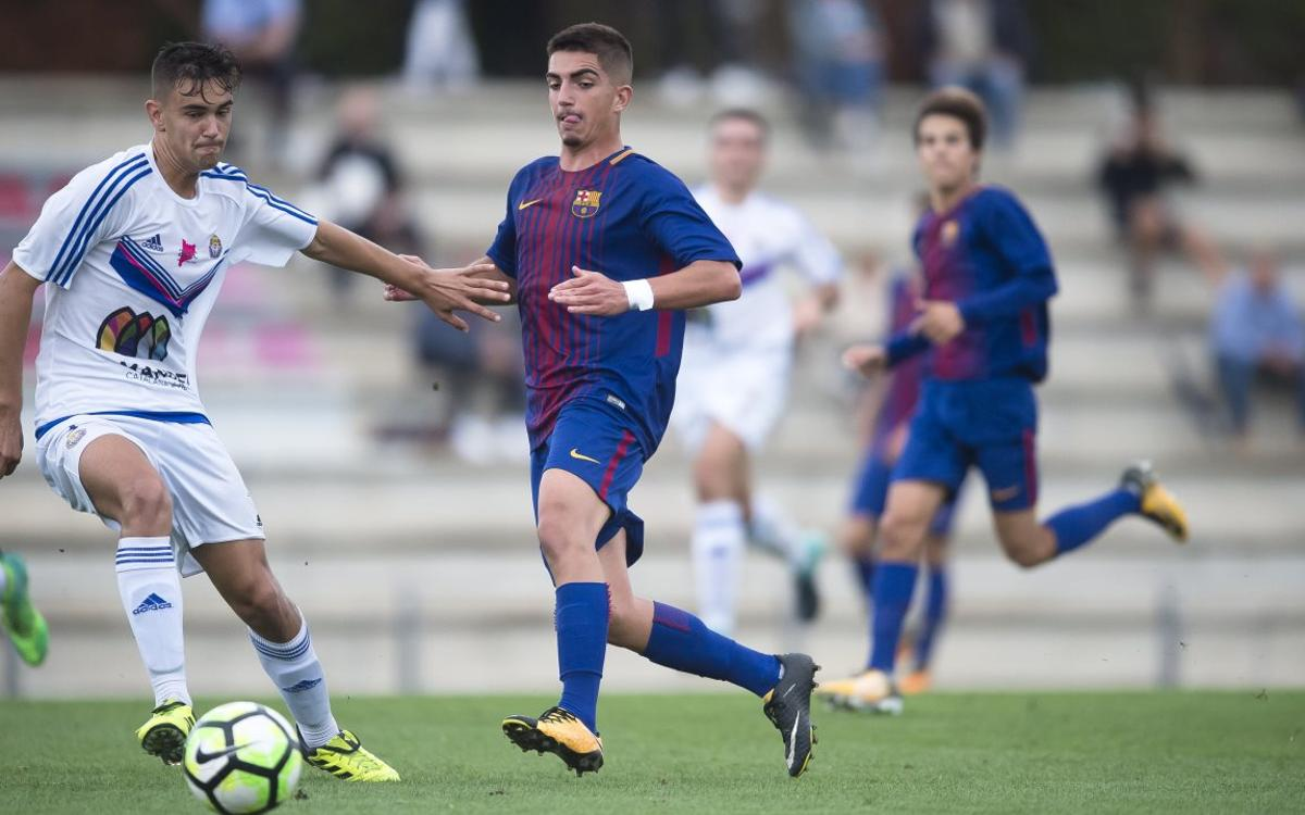 Under 19s – Gimnàstic Manresa: Brave victory (1-0)