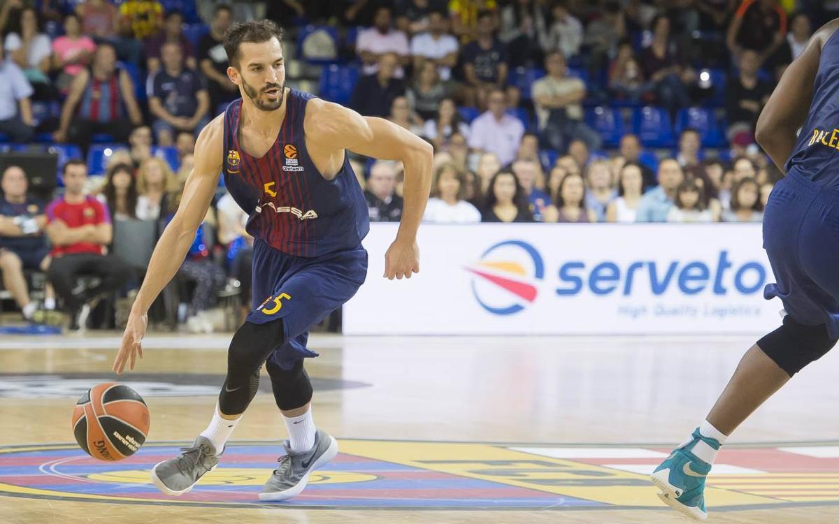 FC Barcelona Lassa - Olympiacos: Partit dels grans al Palau