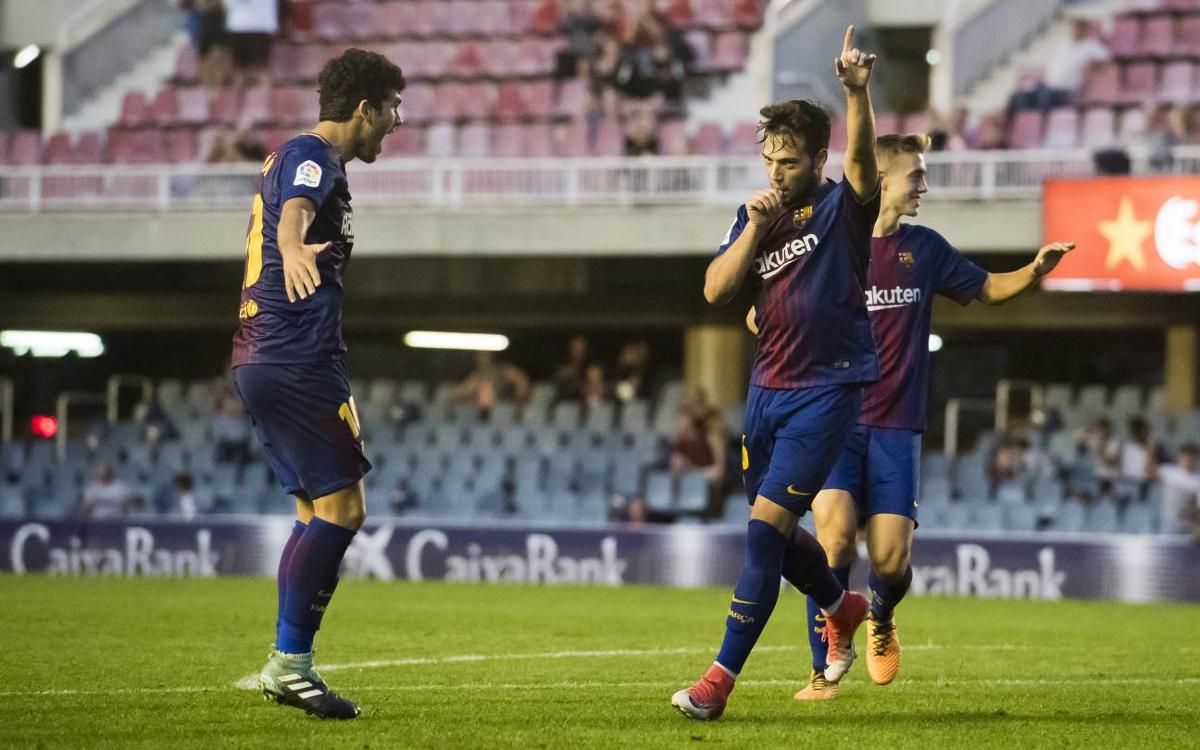 CA Osasuna – Barça B: Visita al líder a El Sadar