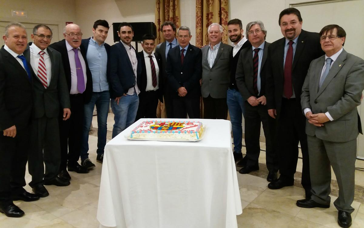 Quintanar Supporters' Club celebrate 25th anniversary