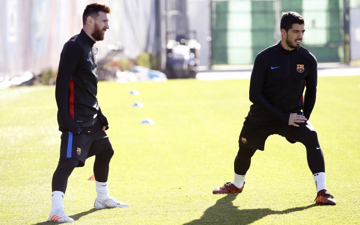 Vidéo - Messi et Rakitic, de retour à l'entraînement du FC Barcelone