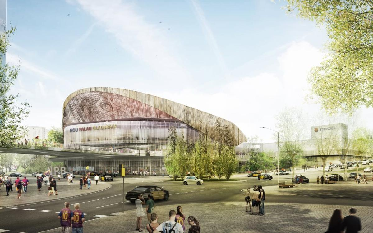 Barça opens pre-registration for New Palau Blaugrana construction work tender